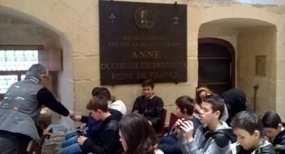 Au Château des Ducs de Bretagne