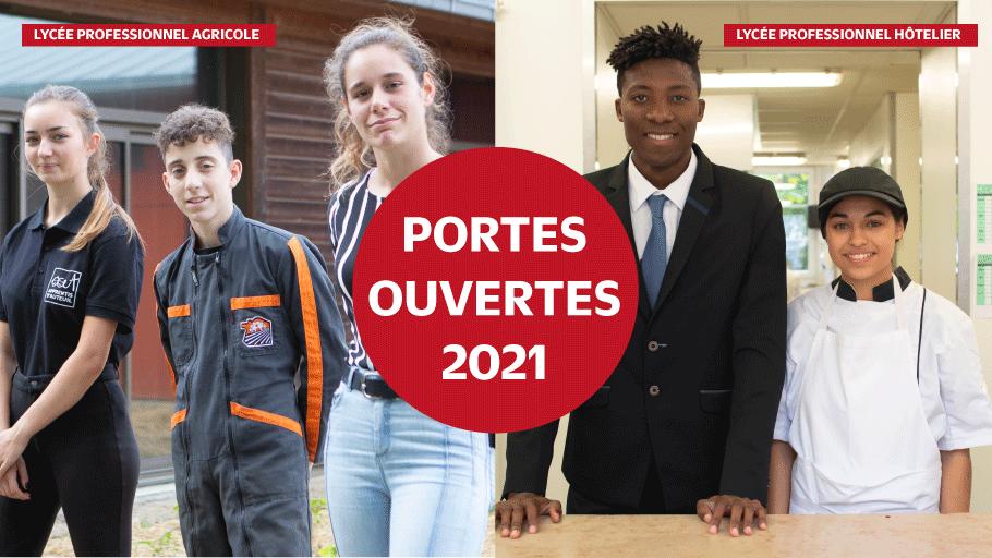 portes ouvertes lycée agricole à Bouaye et lycée hôtelier Daniel Brottier à Bouguenais