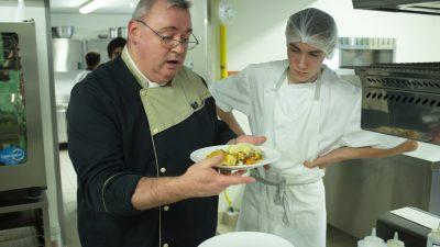 CAP Cuisine lycée hôtelier Daniel Brottier à Bouguenais